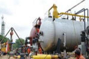 输油管道动火施工过程