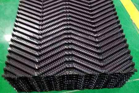 冷却塔填料性能特性及和冷却塔之间的作用关系