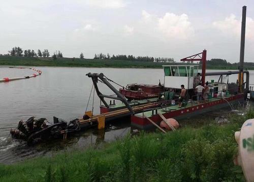 中小河道清淤处理技术