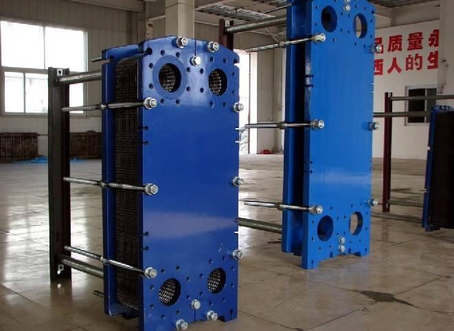 板式换热器清洁方式以及工艺
