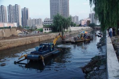 浅谈集成河道清淤方法