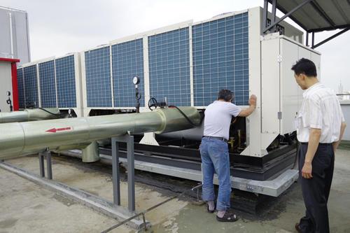 中央空调新风系统的清洗