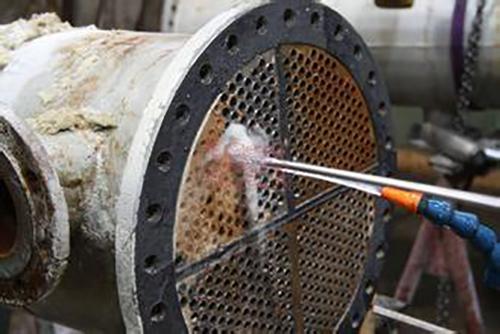 直管式换热器机械清洗操作步骤