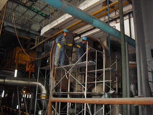 电厂凝汽器清洗结垢及清洗方法